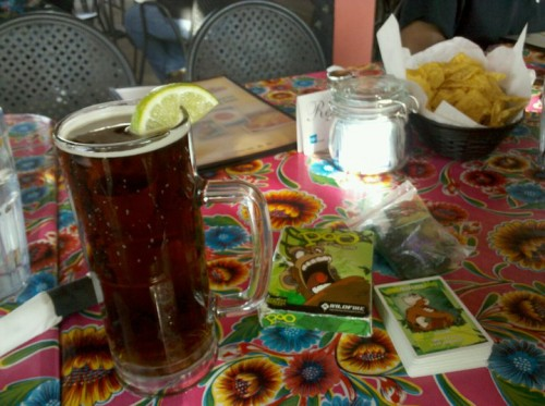 Negra Modelo and Poo, the card game