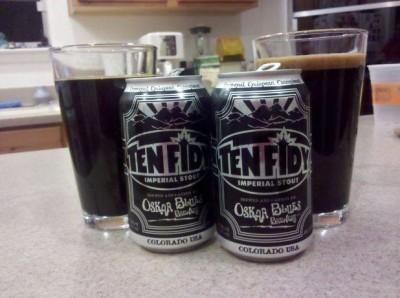 Hands down, my favorite beer, Ten Fidy