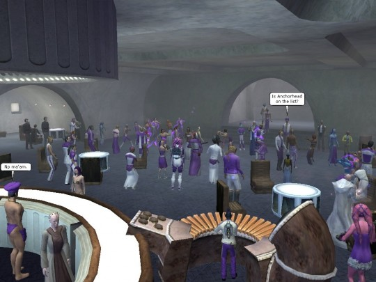 Gorath's First Cantina Crawl, planned out with the help of the German SWG players.